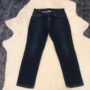 Men's straight leg dark wash Patagonia jeans sz 31